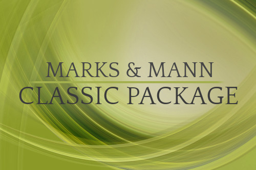 the classic package, marks and mann