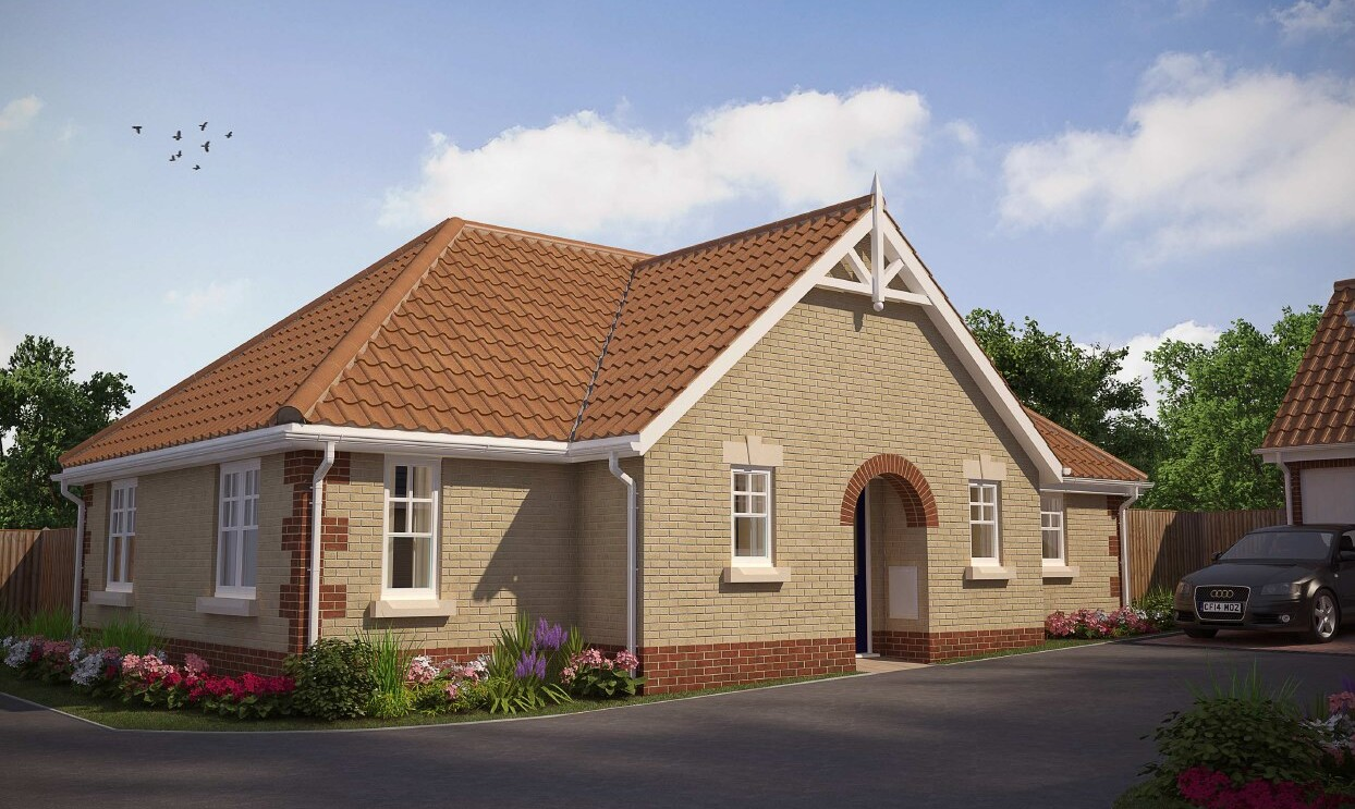 The Leiston S - 3 Bed Bungalow