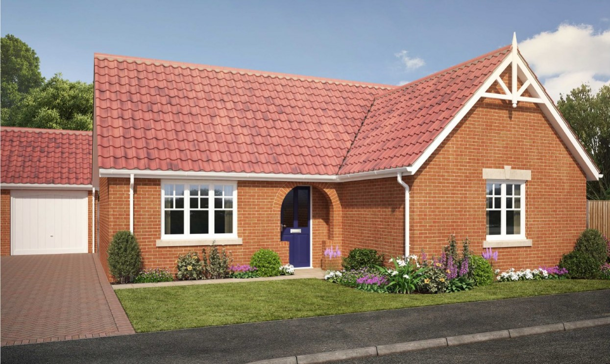 The Wisteria - 2 Bed Bungalow